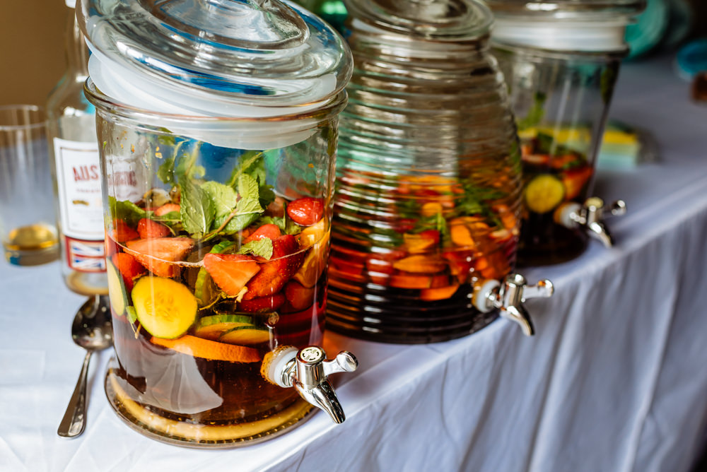 Drinks Dispenser Kilner Pimms Laid Back Harry Potter Wedding Daffodil Waves Photography