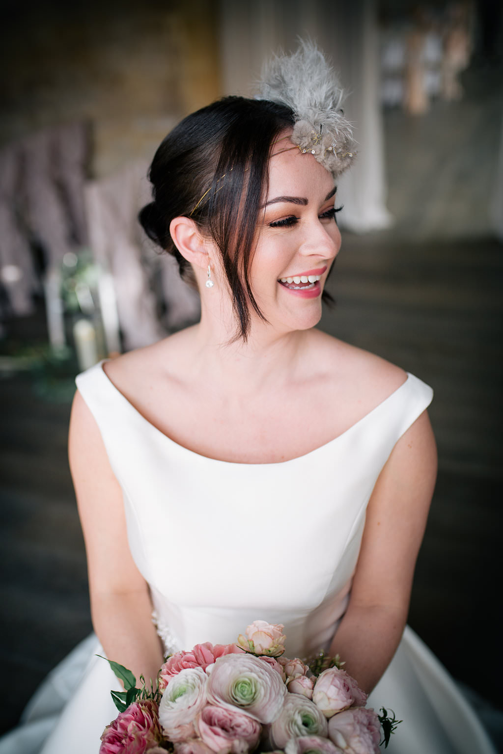 Bride Bridal Make Up Beauty Lapstone Barn Wedding Ideas Cotswolds Katie Hamilton Photography
