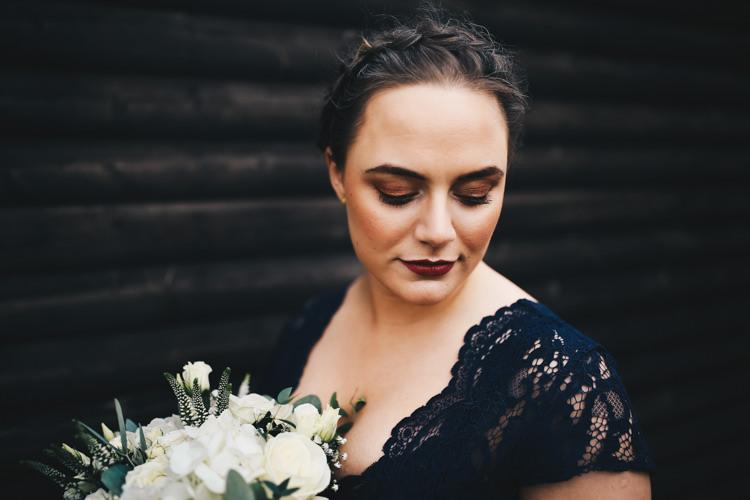 Bridesmaid Hair Make Up Plait Braid Stylish Minimalist Moddershall Oaks Wedding Winnington & Coe Photography
