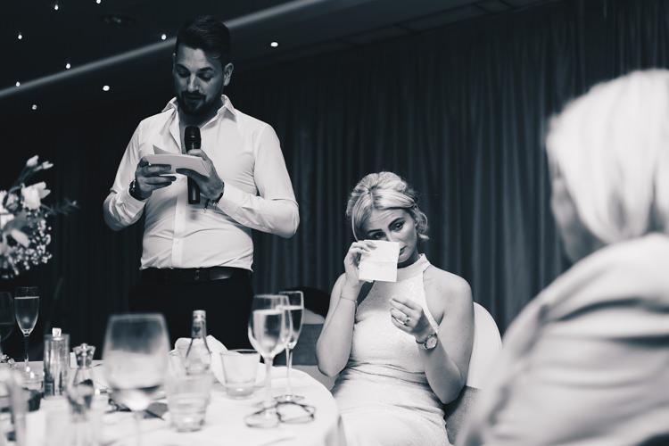 Stylish Minimalist Moddershall Oaks Wedding Winnington & Coe Photography