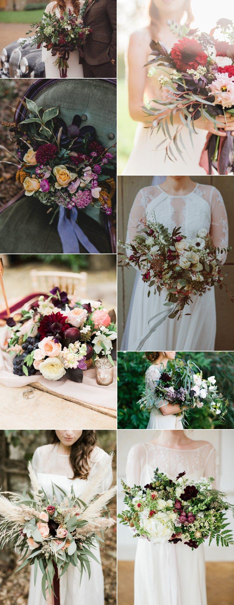 Oxblood Wedding Flowers Bouquets Trends Ideas Burgundy