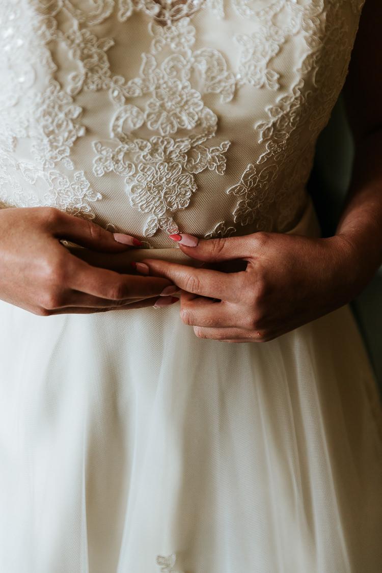 Nails Manicure Bride Bridal Pretty Pastel Floral Village Hall Wedding Struve Photography