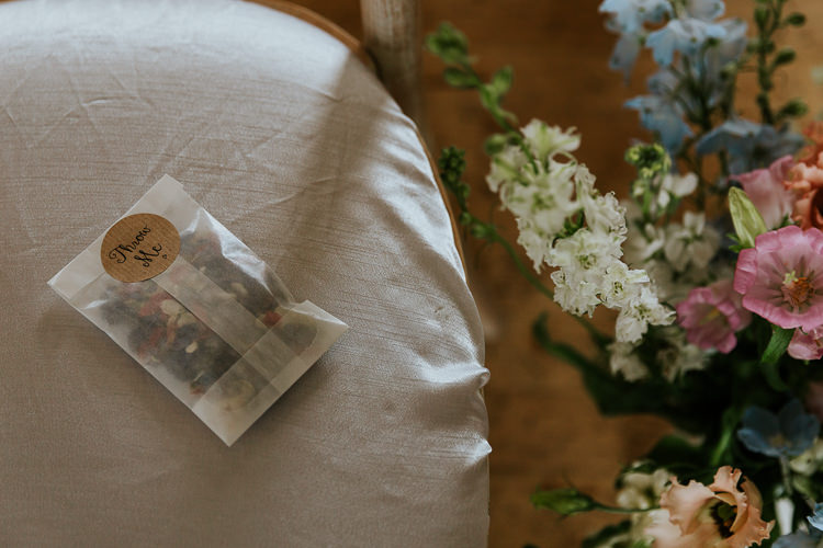 Glassine Confetti Envelopes Pretty Pastel Floral Village Hall Wedding Struve Photography