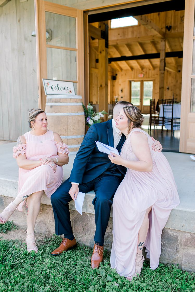 Romantic Spring Pastel Farm Wedding Ashley Spangler Photography