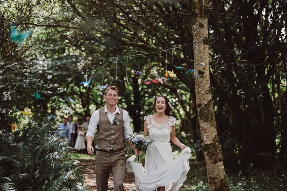 Waistcoat Groom Attire The Green Cornwall Wedding Ben Selway Photography