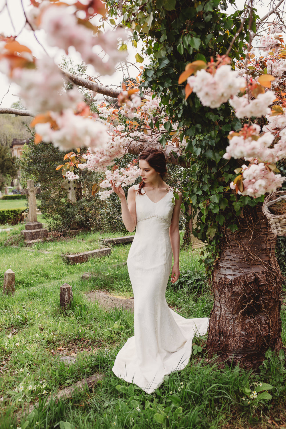 Dress Gown Bride Bridal Lace Train Arnos Vale Weddings Ideas When Charlie Met Hannah Photography