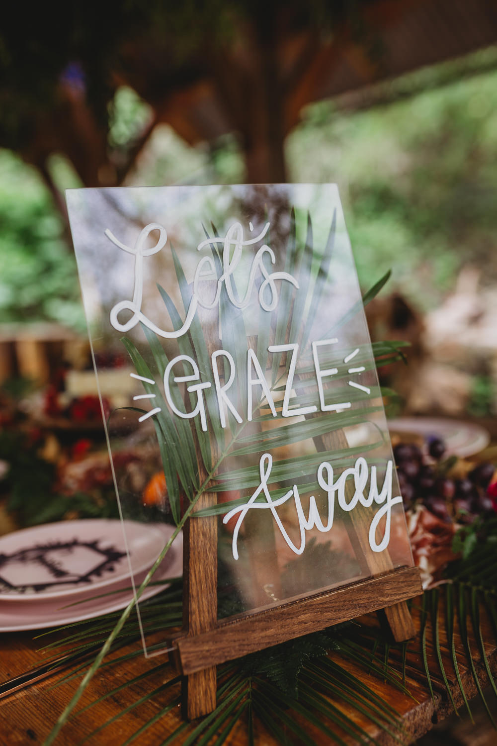 Perspex Acrylic Laser Cut Calligraphy Sign Signage Arnos Vale Weddings Ideas When Charlie Met Hannah Photography