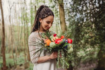 Colourful Woodland Nature Wedding Ideas