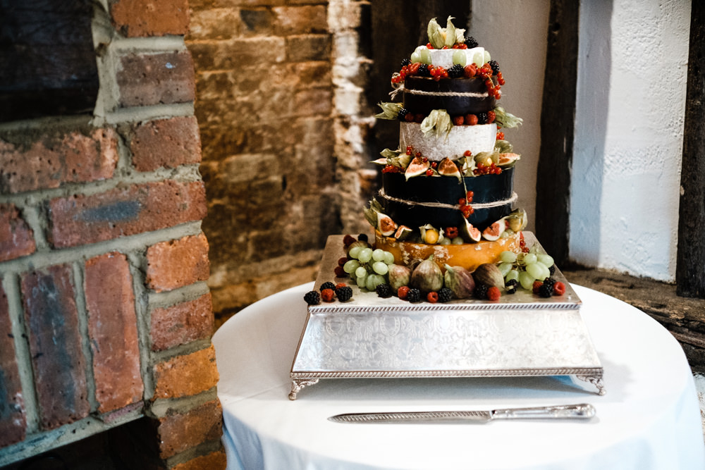 Cheese Cake Tiered Grapes Table Cantley House Hotel Wedding Ross Hurley Photography
