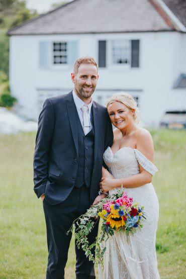 Colourful Bright Summer Pub Wedding Charlotte Razzell Photography