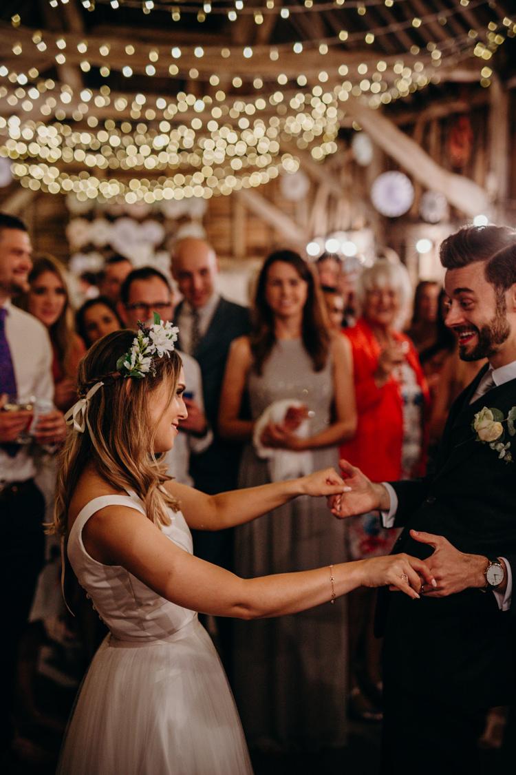 First Dance Creative Hertfordshire Barn Boho DIY Wedding Beard and Mane Photography