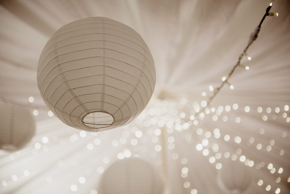 Marquee Lanterns Fairy Lights Decor White Crow Hill Wedding Tim Simpson Photography