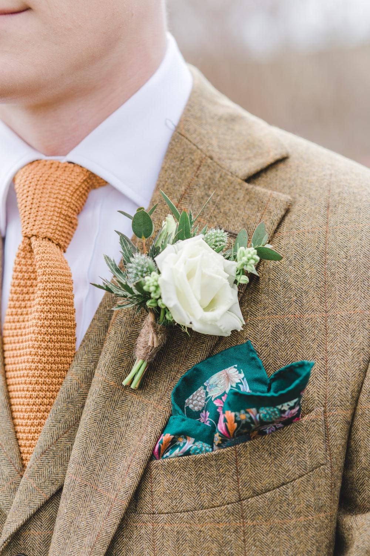 Secret garden greenhouse wedding