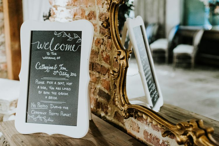Welcome Sign Chalk Board Le Petit Chateau Wedding Chris Randle Photography