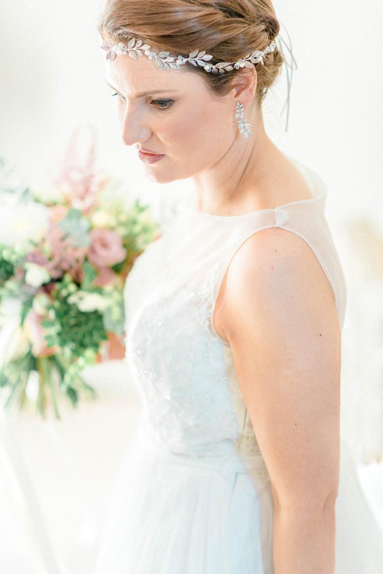 Hair Vine Bride Bridal Accessory Newton Hall Wedding Sarah-Jane Ethan Photography