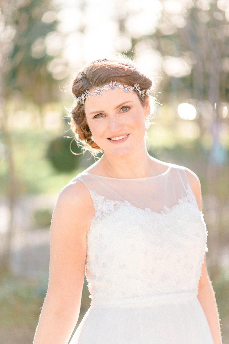 Bride Bridal Make Up Hair Style Newton Hall Wedding Sarah-Jane Ethan Photography