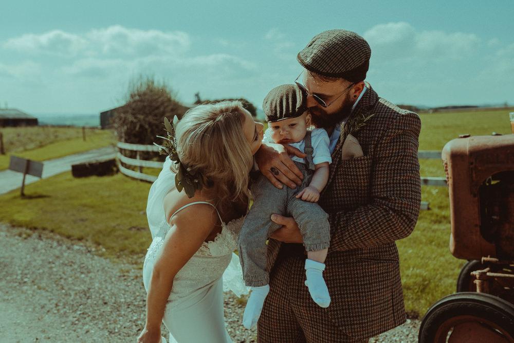 Page Boys Baby Chinos Flat Cap Braces Northside Farm Wedding Belle Art Photography