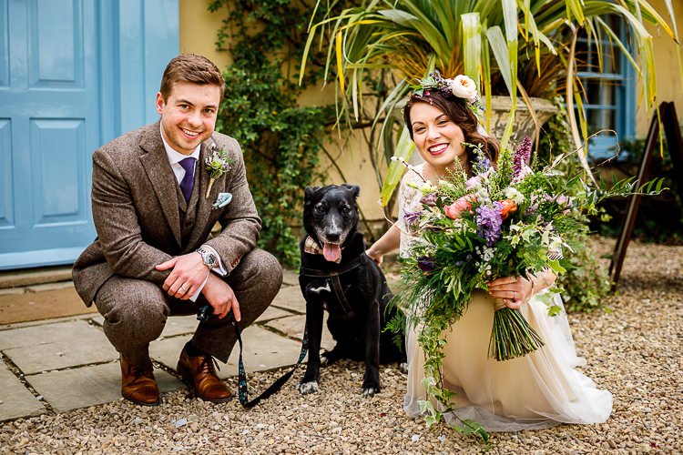 Pet Dog South Farm Wedding Midsummer Night's Dream Lina and Tom Photography