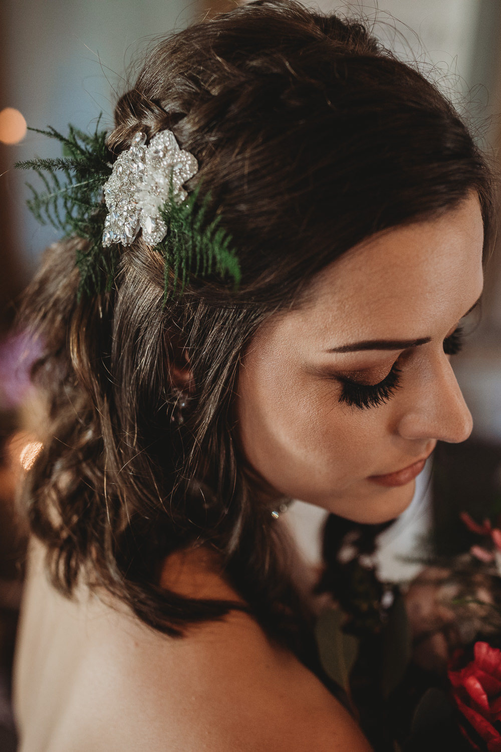 Hair Bride Bridal Style Accessory Barn Wedding Ideas Thyme Lane Photography