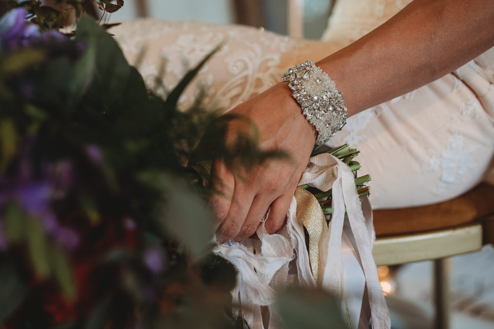Bride Bridal Cuff Bracelet Barn Wedding Ideas Thyme Lane Photography