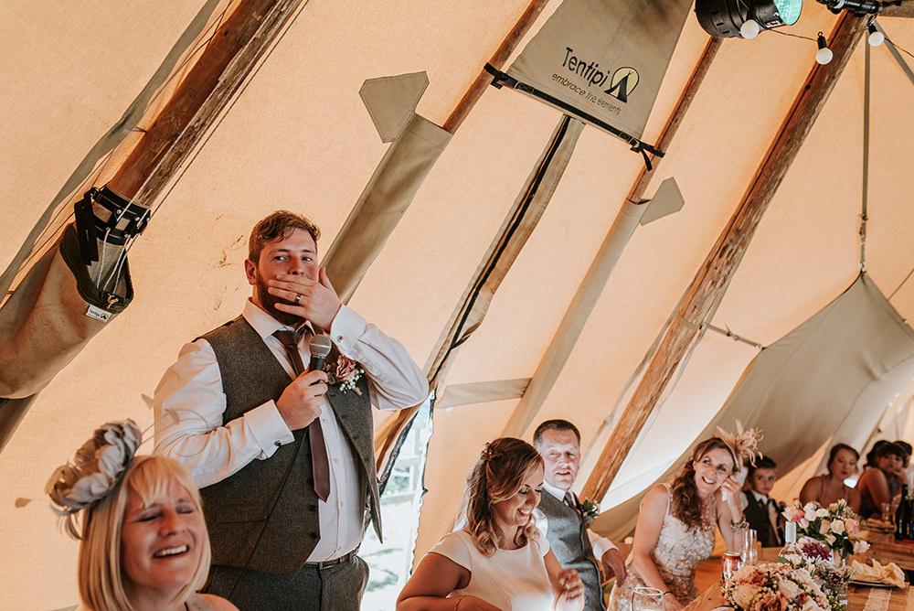 Blithfield Lakeside Barns Wedding Daniel McClane Photography