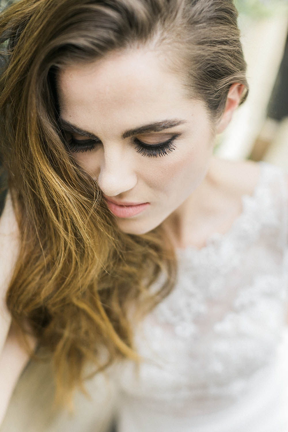 Bride Bridal Make Up Smokey Eye Burgundy Gold Wedding Ideas Sarah Porter Photography
