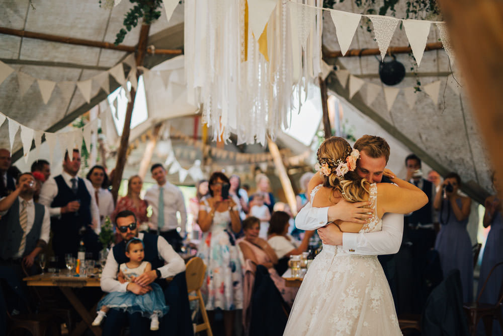 Hanging Hoop Ribbon Lace Decor Bunting Ceridwen Centre Wedding Love Seen Photography