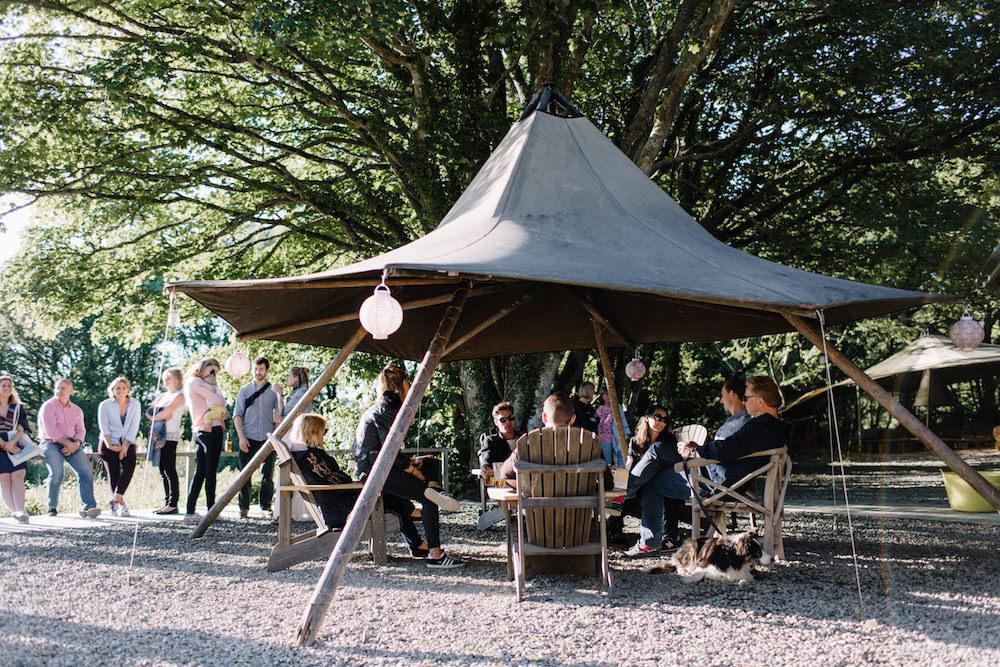 Fforest Festival Outdoor Wedding Venue Rebecca Goddard Photography
