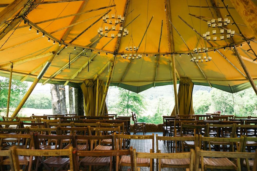 Fforest Festival Outdoor Wedding Venue owen howells