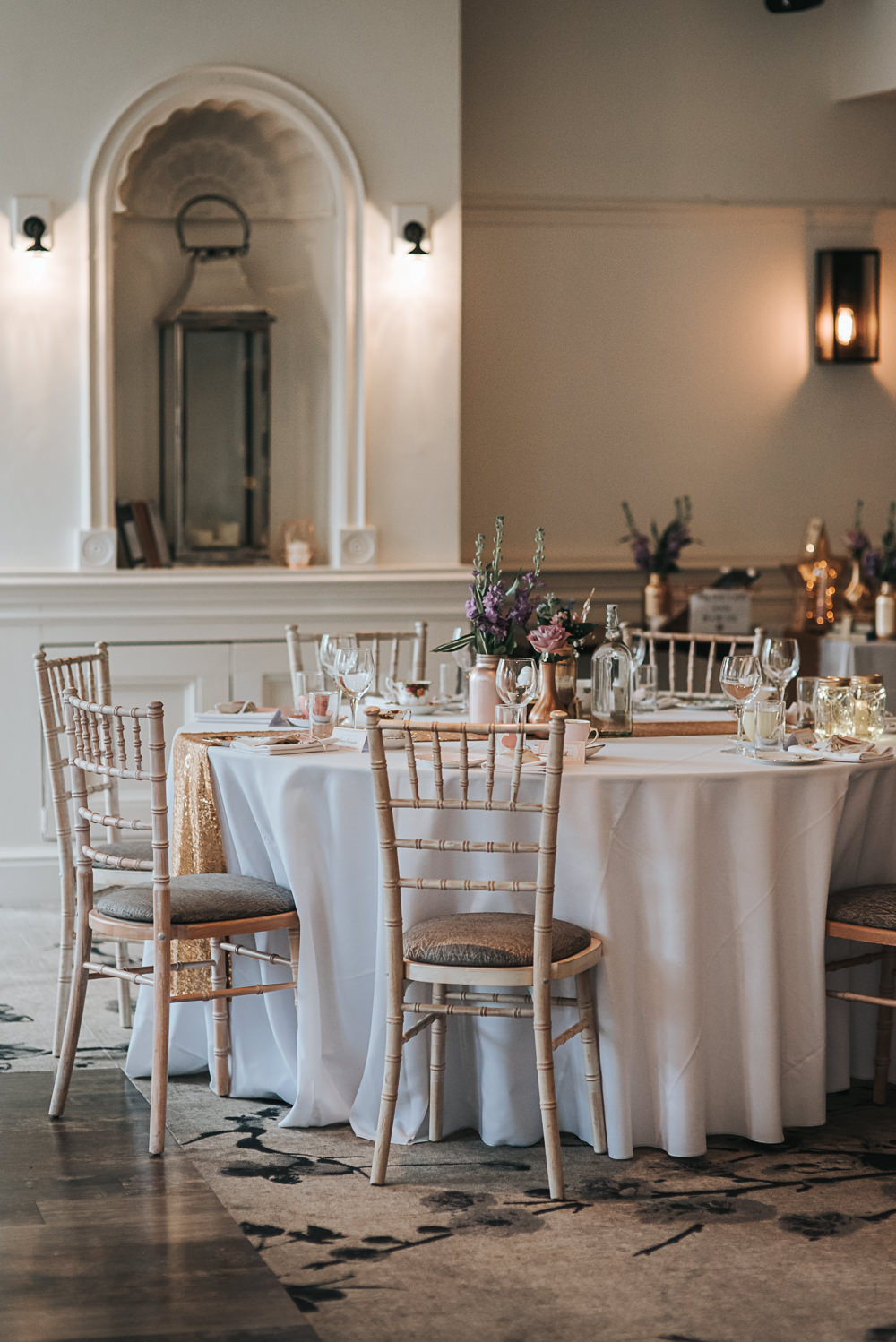 Chiavari Chairs Reception Folly Farmhouse Mackworth Wedding Pear&Bear Photography