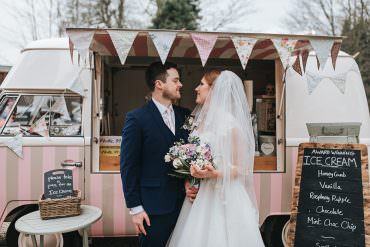 Soft Vintage Spring Wedding Inspired by Up