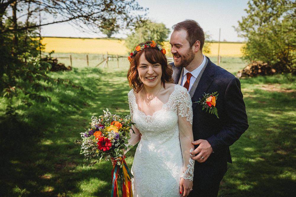 Cheerful Colourful DIY Farm Wedding