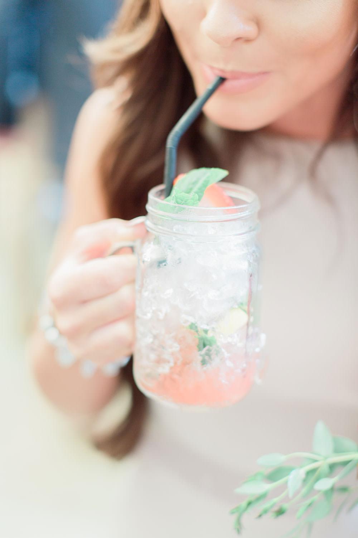 Jar Jam Drinks Straws Marsala Gold Wedding Carn Patrick Photography