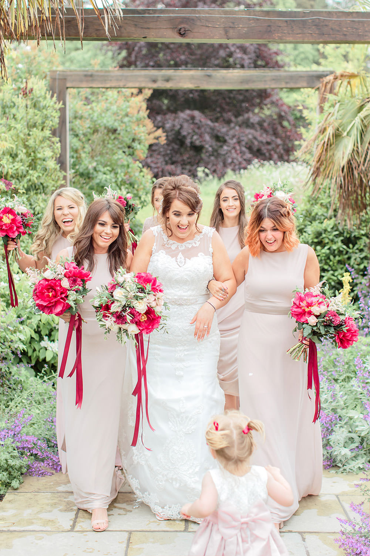 Blush Dress Bridesmaids Long Maxi Marsala Gold Wedding Carn Patrick Photography