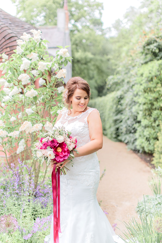 Lace Dress Gown Bride Bridal Sweetheart Train Belt Marsala Gold Wedding Carn Patrick Photography