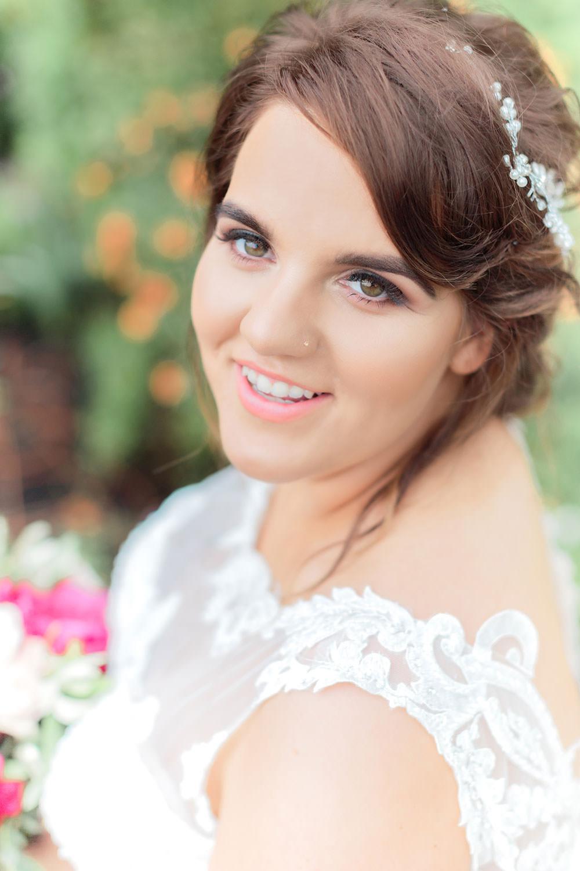 Make Up Bride Bridal Beauty Marsala Gold Wedding Carn Patrick Photography