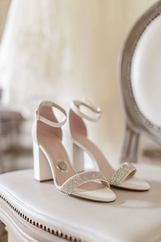 Shoes Bride Bridal White Sparkle Heels Sixpence Marsala Gold Wedding Carn Patrick Photography