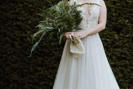 Organic Foliage Wedding Ideas Rubie Love Photography