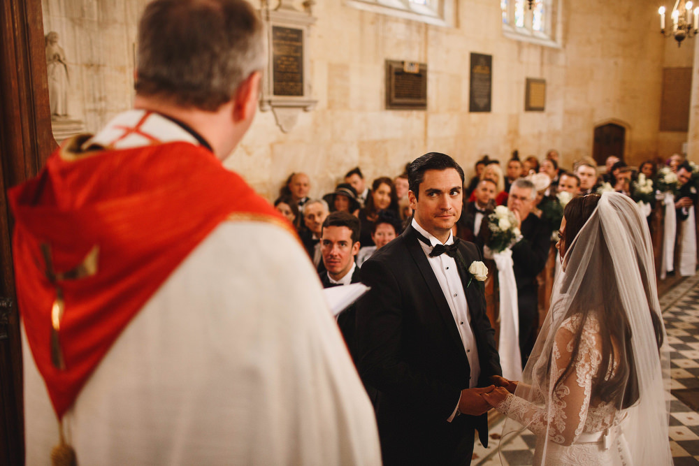 Cotswolds Royal Castle Summer Autumn Traditional Classic Elegant Groom Bride Ceremony Church Vows | Sudeley Castle Wedding ARJ Photography