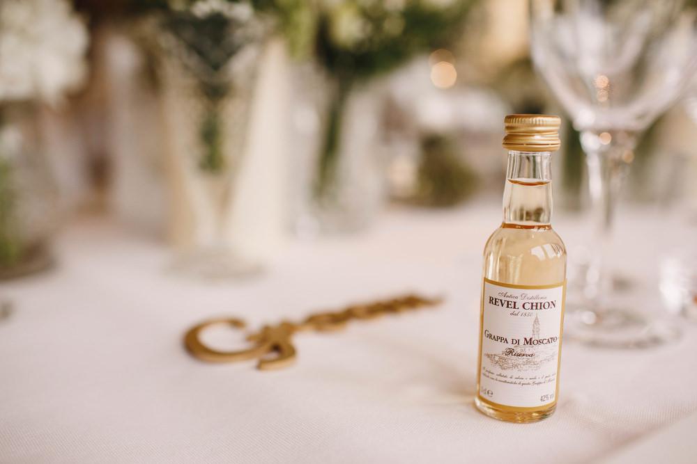 Cotswolds Royal Castle Summer Autumn Traditional Classic Elegant Simple White Decor Wine Favour | Sudeley Castle Wedding ARJ Photography