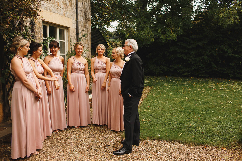 Cotswolds Royal Castle Summer Autumn Traditional Classic Elegant Bridesmaids Blush Pink Dresses | Sudeley Castle Wedding ARJ Photography