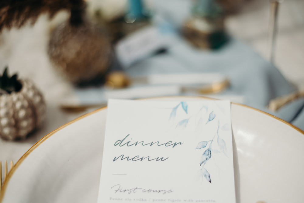 Outdoor Wild Nature Destination Spain Europe Coastal Styled Shoot Beach Table Elegant Styling Menu Stationery | Blue Ibiza Elopement Ideas and Surprise Proposal Serena Genovese Photography