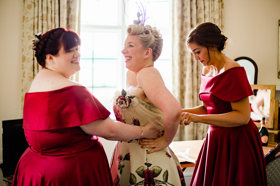 Catherine Bailey Make Up Artist Wedding Directory UK Supplier Fringe Photography