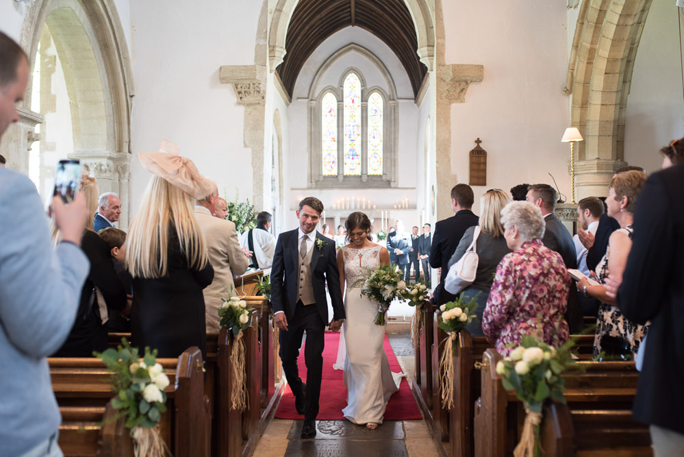 Bride Bridal Embellished Sequin Boat Neck Sleeveless Veil Bouquet Greenery White Reiss Waistcoat Groom Navy Elegant Chic Modern Wedding Kayleigh Pope Photography