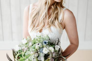 Modern Luxe Grey & Violet Wedding Ideas