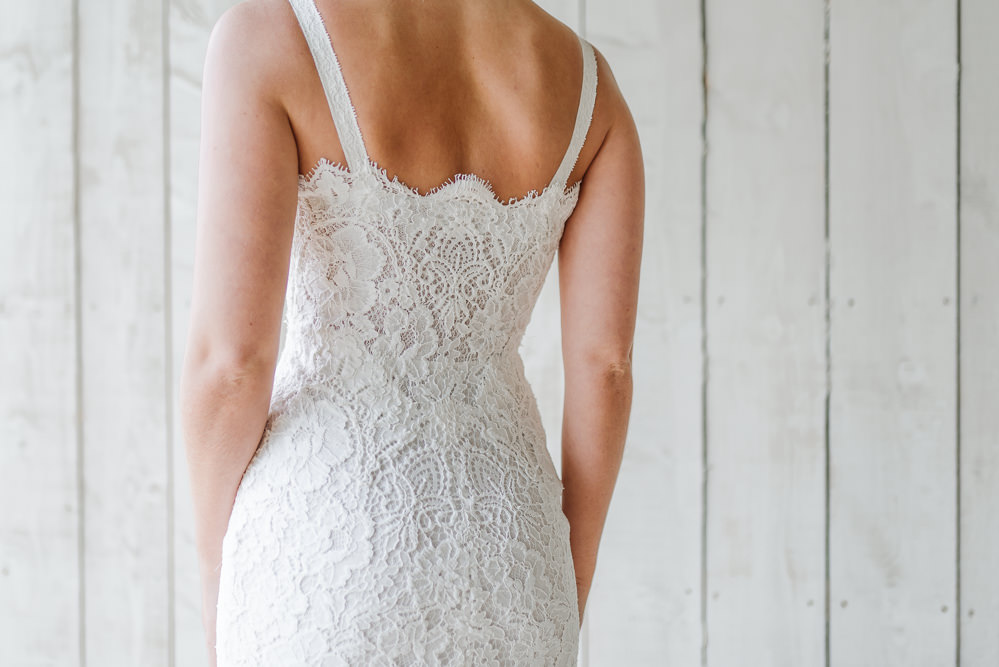 Lace Dress Gown Bride Bridal Sleeves Skirt Straps Grey Violet Wedding Ideas Chloe Ely Photography