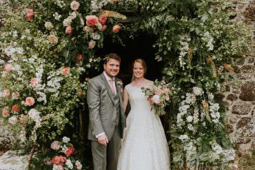 Harry Warren House Wedding Big Bouquet Photography