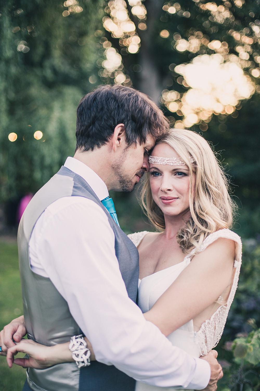 Bride Bridal Make Up Headdress Accessory Hothorpe Hall Woodlands Wedding Lucy Long Photography