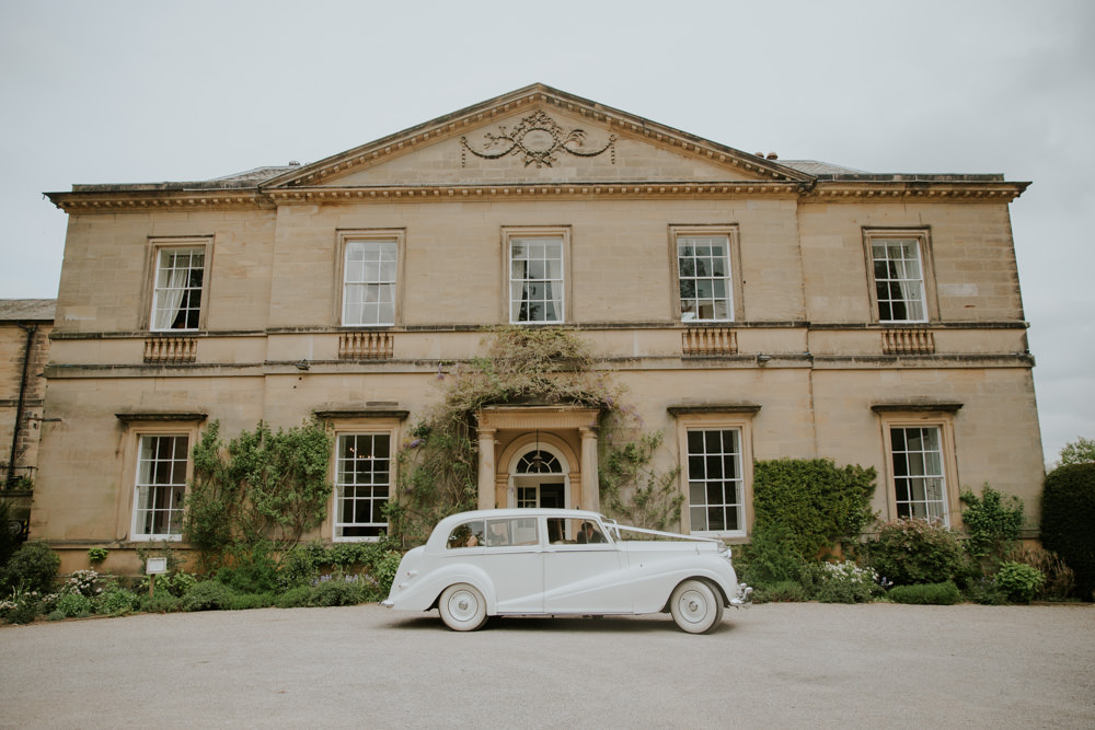 Classic Car Transport Middleton Lodge Wedding Jamie Sia Photography