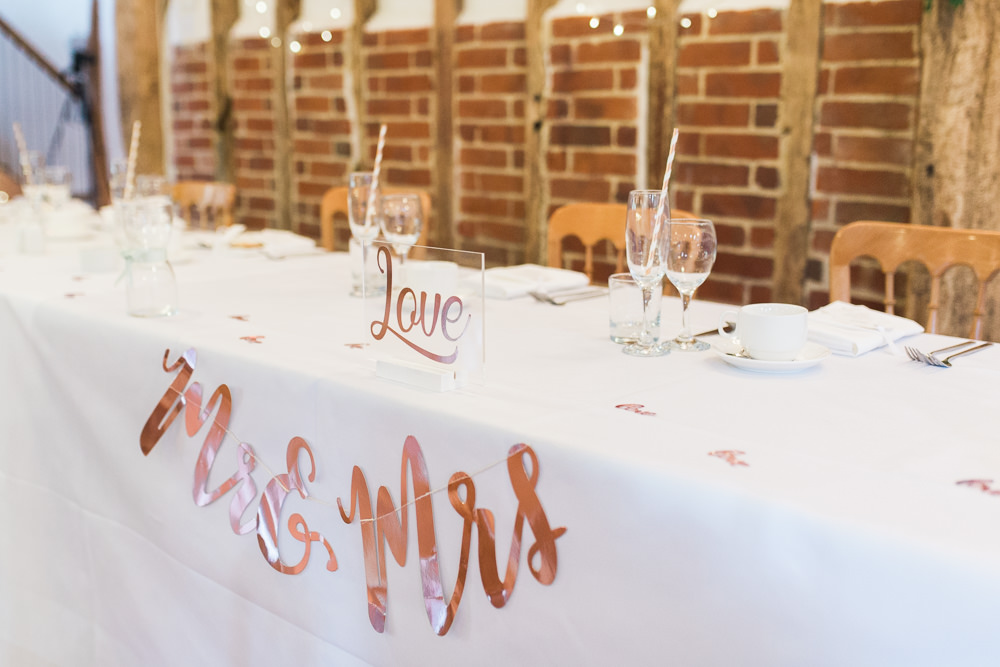 Mr & Mrs Garland Moreves Barn Wedding Gemma Giorgio Photography